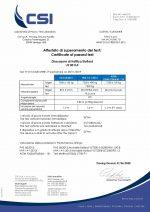 certificate JS80HA